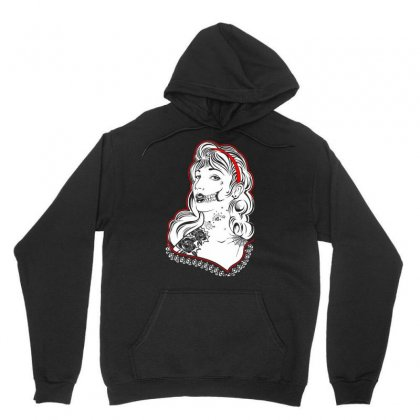 Sugar Skull Women White Unisex Hoodie Designed By Specstore