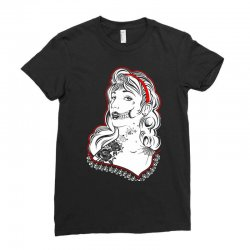 Sugar Skull Women White Ladies Fitted T-Shirt | Artistshot