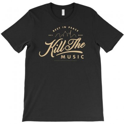 Rest In Peace Bris Bane Kill The Music T-shirt Designed By Buckstore