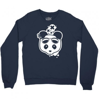 Super Hippies Panda Crewneck Sweatshirt Designed By Specstore