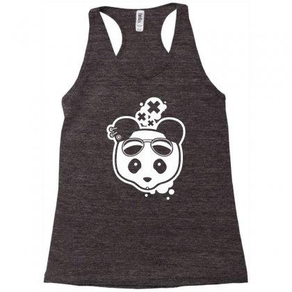 Super Hippies Panda Racerback Tank Designed By Specstore