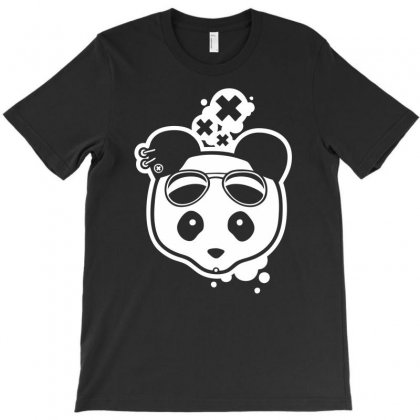 Super Hippies Panda T-shirt Designed By Specstore