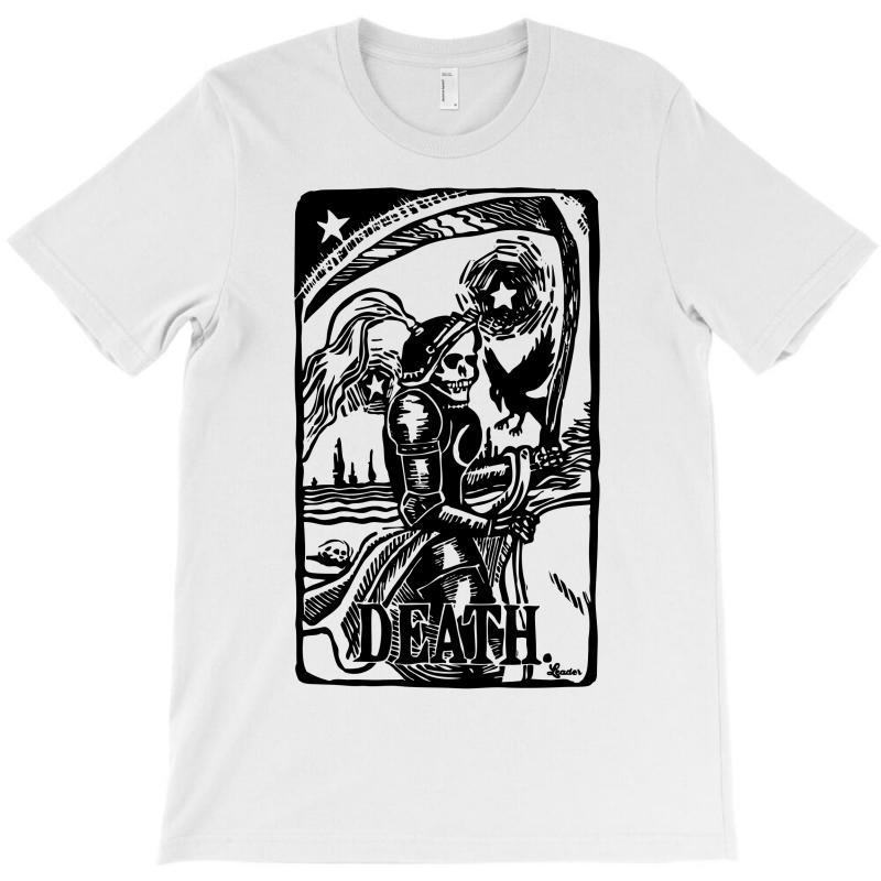 Tarot Death Card T-shirt | Artistshot