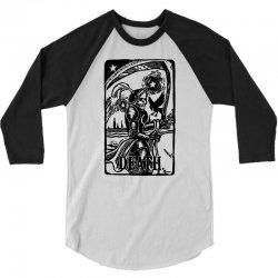 Tarot Death Card 3/4 Sleeve Shirt | Artistshot