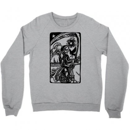 Tarot Death Card Crewneck Sweatshirt Designed By Specstore