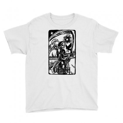 Tarot Death Card Youth Tee Designed By Specstore