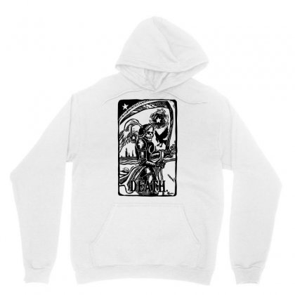 Tarot Death Card Unisex Hoodie Designed By Specstore