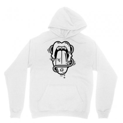 The Diamond Tongue Unisex Hoodie Designed By Specstore