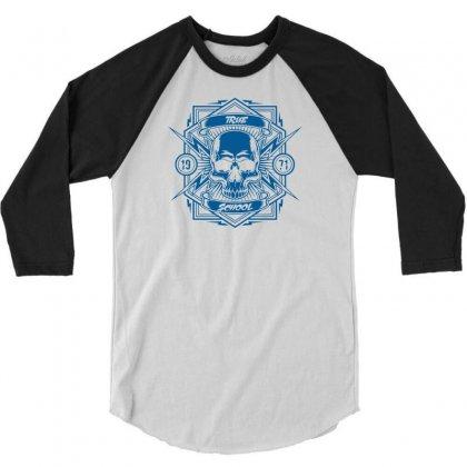 True School 3/4 Sleeve Shirt Designed By Specstore