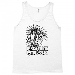 Wrestling With Words Tank Top | Artistshot