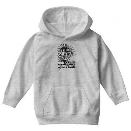Wrestling With Words Youth Hoodie Designed By Specstore