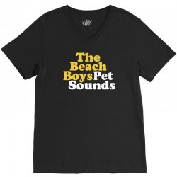 The Beach Boys Pet Sounds V-Neck Tee | Artistshot