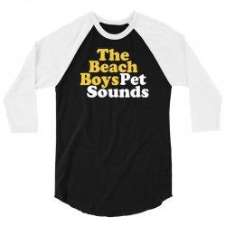 The Beach Boys Pet Sounds 3/4 Sleeve Shirt | Artistshot