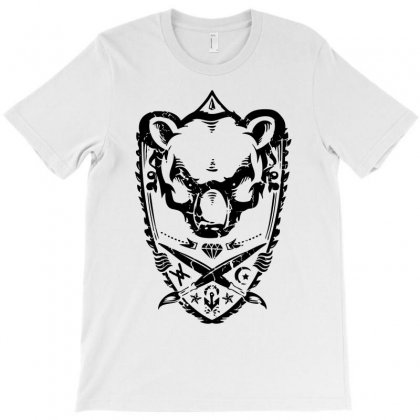 Wild Bear T-shirt Designed By Ditreamx