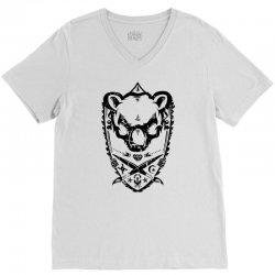 wild bear V-Neck Tee | Artistshot