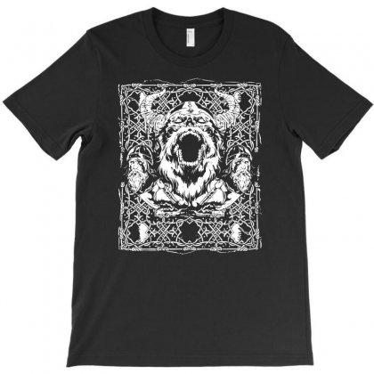 Viking Rage T-shirt Designed By Ditreamx