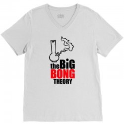Big Bong Theory V-Neck Tee | Artistshot