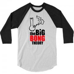 Big Bong Theory 3/4 Sleeve Shirt | Artistshot