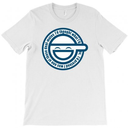 Ghost In The Shell Laughing T-shirt Designed By Thesamsat