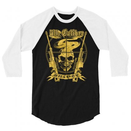Caliber Sniper 3/4 Sleeve Shirt Designed By Buckstore