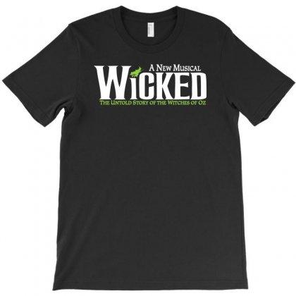 Wicked Broadway T-shirt Designed By Thesamsat