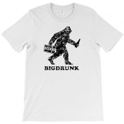 Bigdrunk Bigfoot T-shirt Designed By Thesamsat