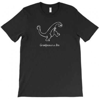Grandpa Dinosaur T-shirt Designed By Thesamsat