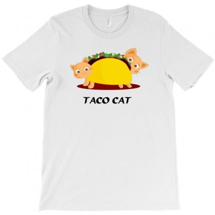 Taco Cat T-shirt Designed By Thesamsat