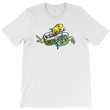 Women's Phish Control For Smilers T-shirt Designed By Thesamsat