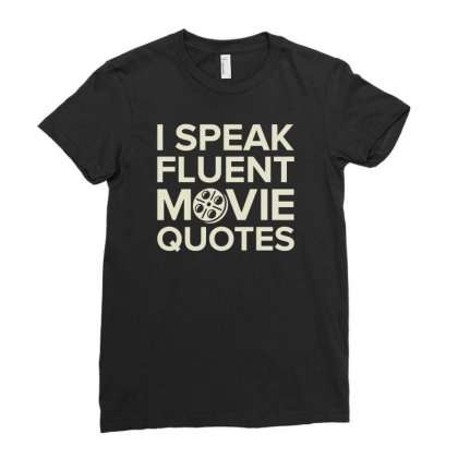 Movie Quotes Ladies Fitted T-shirt Designed By Buckstore