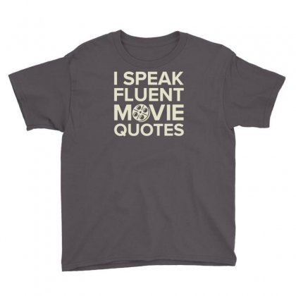Movie Quotes Youth Tee Designed By Buckstore