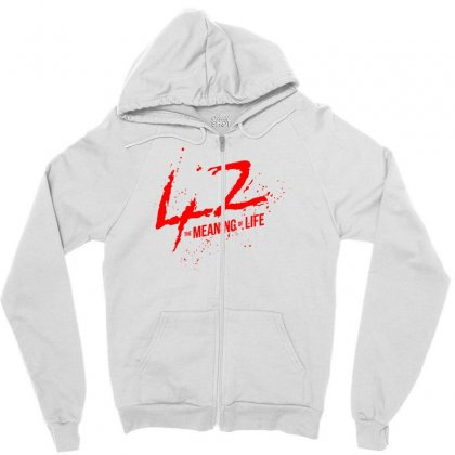 42 The Meaning Life Zipper Hoodie Designed By Specstore