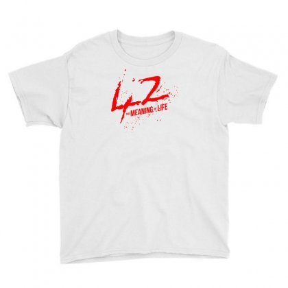42 The Meaning Life Youth Tee Designed By Specstore