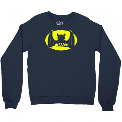 Bat Moon Crewneck Sweatshirt Designed By Specstore