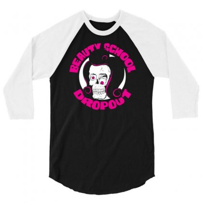 Beauty School Dropout 3/4 Sleeve Shirt Designed By Specstore