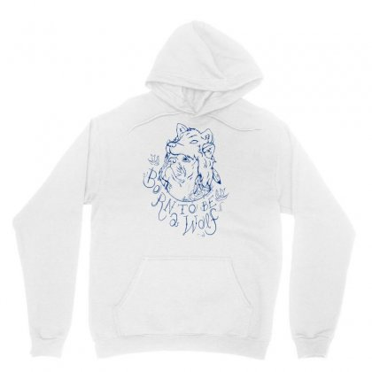 Born To Be A Wolf Unisex Hoodie Designed By Specstore