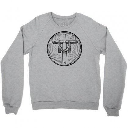 Easter Sunday Cross Crewneck Sweatshirt Designed By Specstore