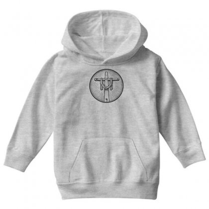 Easter Sunday Cross Youth Hoodie Designed By Specstore