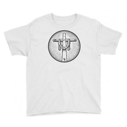 Easter Sunday Cross Youth Tee Designed By Specstore