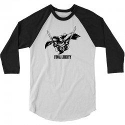 Final Liberty 3/4 Sleeve Shirt   Artistshot