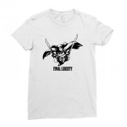 Final Liberty Ladies Fitted T-Shirt   Artistshot