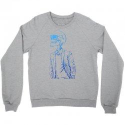 Gentleman Skull Crewneck Sweatshirt | Artistshot