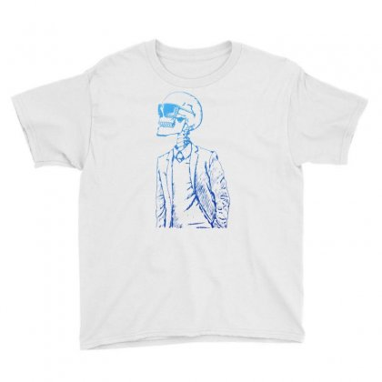 Gentleman Skull Youth Tee Designed By Specstore