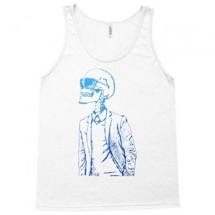 Gentleman Skull Tank Top Designed By Specstore
