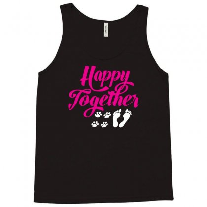 Happy Together With Pet Tank Top Designed By Specstore