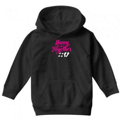 Happy Together With Pet Youth Hoodie Designed By Specstore
