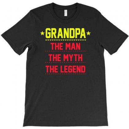 Grandpa The Man The Myth The Legend T-shirt Designed By Buckstore