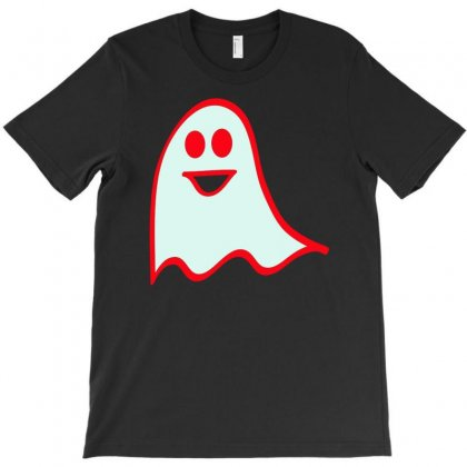 Happy Ghost T-shirt Designed By Buckstore