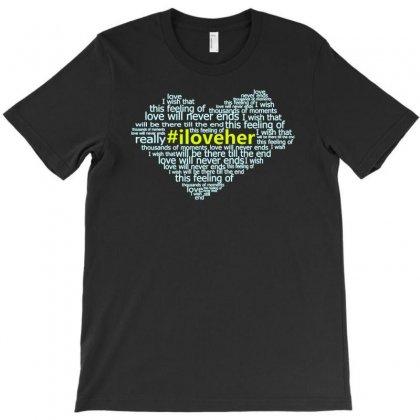 Iloveher T-shirt Designed By Buckstore