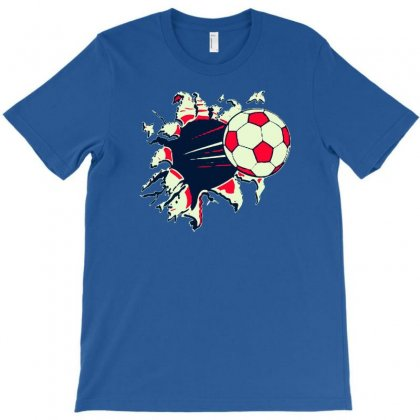 The Soccer T-shirt Designed By Buckstore